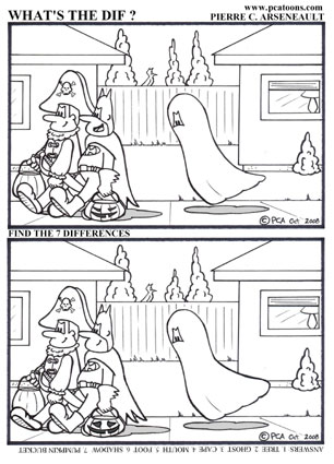 ghostly trick or treat